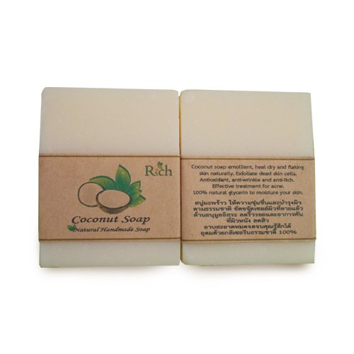 coconut soap สบู่มะพร้าว